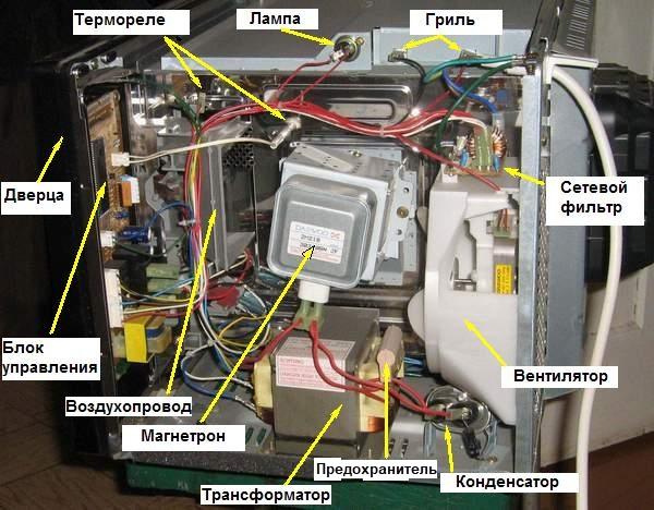 Схема печи свч samsung фото 312