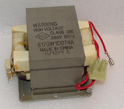 Высоковольтный трансформатор микроволновой печи